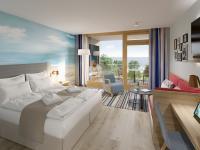 Komfortzimmer mit Meerblick