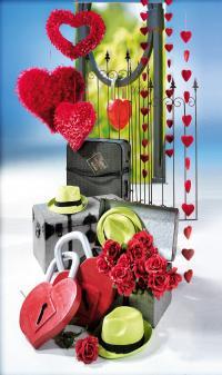 Außergewöhnliche Deko zum Valentinstag
