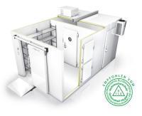 Die Tecto Standard und Tecto Spezial Kühl- und Tiefkühlzellen sind serienmäßig mit der Smart Protec Pulverbeschichtung ausgestattet. / Bildquelle: Viessmann Kühlsysteme GmbH