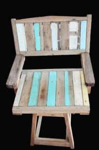 Vintage Möbel - selbst machen für die Strandbar ist günstig und keine Kunst