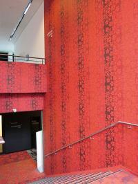 Die individuellen Tapeten wurden nur durch Digitaldruck möglich / Bildquelle: Kameha Grand Bonn