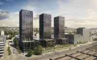 Die Fertigstellung der gesamten Überbauung «Vulcano» und die Eröffnung des Hotelbetriebs sind für Ende 2018 vorgesehen. / Bildquelle: ©Swiss Interactive AG, im Auftrag der Steiner AG