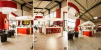 Empfangsbereich im Injoy Fitnessstudio in Horn-Bad Meinberg / Bildquelle: W. Classen GmbH