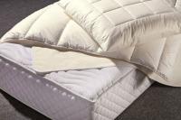 Mit dem Bettwaren-Programm aus der Lyocell Faser Tencel bietet Wäschekrone Hoteliers ab 2017 Bettwäsche, Matratzenschoner, Einziehdecken und Kissen aus einer innovativen natürlichen Faser / Bildquelle: Wäschekrone