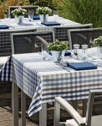 Outdoor-Tischwäsche von Wäschekrone / Bildquelle: Wäschekrone GmbH & Co. KG