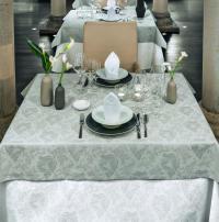 Floraler Jacquard-Damast für den festlichen Tisch / Bildquelle: Wäschekrone GmbH & Co. KG