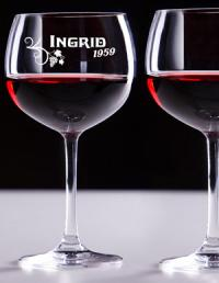 Weingläser mit Gravur für den speziellen Freund