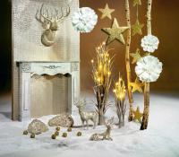 Weiße Edel-Effekte mit Gold, Weiß und Schwarz sind DIE Dekoration für das Fest und die Hochzeit; Bildquellen alle Woerner