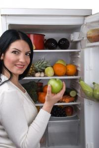 Typische Weisse Ware: der Kühlschrank