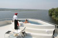 Zambezi Queen pool