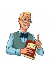 Der Professor - die Identifikationsfigur von Hotelier.de für den Wissensbereich Lexikon / Copyright © Hotelier.de
