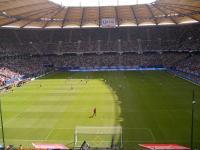 Zweitklassiger Fußball, aber erstklassiges Stadion, wo auch schon WM-Spiele stattgefunden haben: Das Volkparkstadion Hamburg / Bildquelle: Hotelier.de