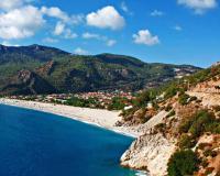Malerische Bucht in Oludeniz/Türkei