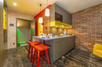 Küche des Studios / Bildquelle: © HAFENCITYSTUDIOS