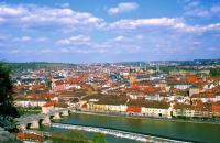 Die schöne Lage Würzburgs ist weit über die Grenzen des Landes bekannt