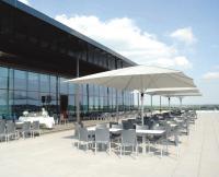 PUMA Headquarter Herzogenaurach MAY Schattello 4x6m mit maystro LED Ring RGB, Bildquellen May