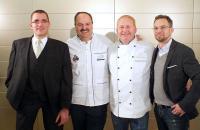 Mike Picker, Johann Lafer, Dietrich Lampe und Alexander Bittner