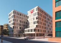 Rendering Leonardo Hotel Eschborn / Bildquelle:  (c) GFB Alvarez & Schepers