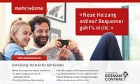 Sorgenfrei heizen mit Voll-Service: mehrwärme-Kunden erhalten eine neue Heizung ohne Investitionskosten mit 15 Jahren Garantie / Bildquelle: gc Wärmedienste GmbH