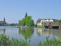 Idyllisches Röbel an der Müritz: eine Kleinstadt im Südwesten des Landkreises Mecklenburgische Seenplatte