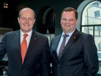Von links: Gerhard Struger und Johannes Mayr / © Sofitel Munich Bayerpost