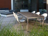 M-Tisch KUBUS + 2-Einlegeplatten / Bildquelle: Beide Village Garden