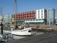 Das Comfort Hotel Bremerhaven liegt direkt am Fischereihafen / Bildquelle: Choice Hotels
