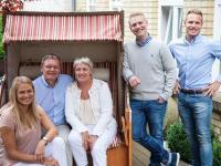 Familie Boddenberg (Jan Boddenberg 2. von rechts) / Bildquelle: Ringhotels e.V.