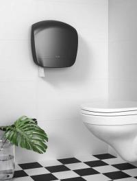 Katrin System-Toilettenpapierrolle; Bildquellen Schwarz KommA