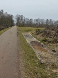 Kiesflächen im Moor zum Barfußgehen? Könnte auch in Schilda sein