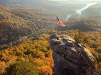 Chimney Rock Aerial / Bildquelle: © VisitNC