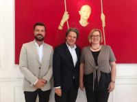 Neuer DORMERO-Aufsichtsrat: v.l.n.r.: Christian Drewes, Michael Käfer und Anke Heesel / Bildquelle: DORMERO Hotel AG