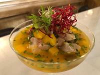 Optisch wie geschmacklich ein Highlight ist das Ceviche im mallorquinischen Hotel Cort / Bildquelle: Hotel Cort