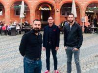 Tomislav Rubic, CFO & Prokurist DORMERO Hotel AG; Oliver Krause, Hotelmanager;  Dr. Marcus Maximilian Wöhrl, Vorstand DORMERO Hotel AG / Bildquelle: DORMERO Hotel AG