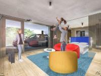 CarLoft Zimmer Rendering / Bildquelle: b'mine hotels GmbH