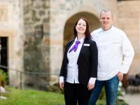 Stefanie und Tobias Dittrich, Inhaber Schloss Hohenstein / Bildquelle: Hotel Schloss Hohenstein