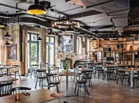 Passend zur Industrietradition von Velbert: Das neue Restaurant des Best Western Plus Parkhotel Velbert