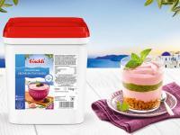 Joghurtcreme Brombeer-Stachelbeer / Bildquelle: frischli Milchwerke GmbH