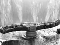 Das strömungsoptimierte Spülfeld mit neuer Düsengeometrie reduziert den Wasserverbrauch gegenüber dem Vorgängermodell um bis zu 25 Prozent. / Bildquelle: Beide Winterhalter Gastronom GmbH