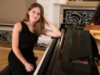 Oksana Goretska begeistert mit vollendetem Pianospiel. / Bildquelle: Margit Wild