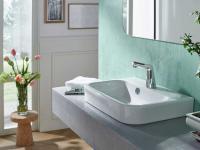 Berührungslose Armaturen, wie die HANSADESIGNO Style, sorgen für ein Plus an Hygiene und Sicherheit. / Bildquelle: Hansa Armaturen GmbH