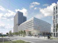 Außenrendering Leonardo Hotel Frankfurt Europaallee; (c) Bloomimages