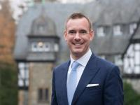 Andreas Wieckenberg, neuer Direktor vom Schlosshotel Kronberg / Fotograf: Martin Joppen