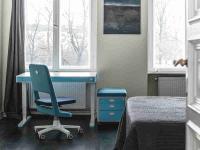 Hotel-Schreibtisch moll T7 in hellblau; Bildquelle AGENTUR 21