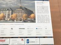 Bauschild Grand Hotel Austoria in Leipzig; Bildquelle Hotelier.de