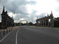 Glienicker Brücke - eine Schönheit in restauriertem Sandstein