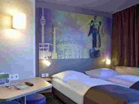 Schickes Doppelbettzimmer der B&B Hotels; Credit B&B HOTELS