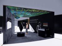 Mit einem neuartigen Standkonzept präsentiert sich Kaldewei auf der ISH vom 11. bis 15. März stärker denn je zuvor als Impulsgeber der Branche: Auf 750 m2 zeigt der Premiumbadhersteller unter einem in Anlehnung an die charakteristische Architektur der Elbphilharmonie, in der Kaldewei mit seinen Badewannen vertreten ist, entworfenen Dach in fünf interaktiven Erlebniswelten Themen, die die Branche bewegen. / Bildquelle: Kaldewei/Schmidhuber