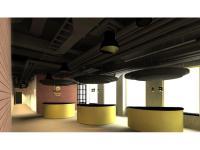 Lobby des gambino hotel Werksviertel (Rendering) / Bildquelle: Beide © OTEC GmbH