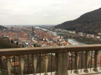 Heidelberger Panorama nach Westen, aufgenommen vom Schlosspark; Bildquelle alle Hotelier.de